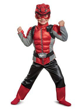 Red Ranger Beast Morpher Toddler Muscle Toddler Costume