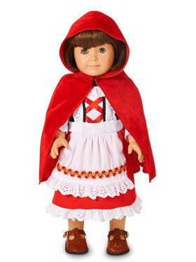 Red Riding Hood Classic 18 Doll Costume