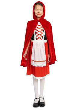 Child Red Riding Hood Classic Costume
