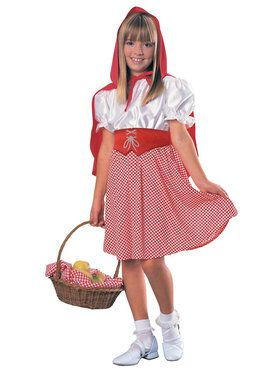 Red Riding Hood Classic Girl's Costume