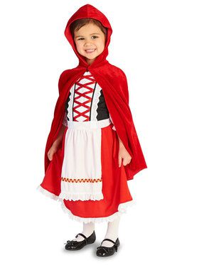 Red Riding Hood Classic Toddler Costume
