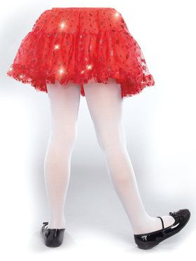 Red Sparkle Child Petticoat One-Size
