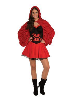 Red Temptation Adult Costume