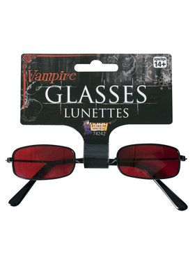 Red Vampire Sunglasses