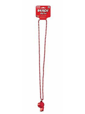 Red Whistle Necklace Accessory Kit