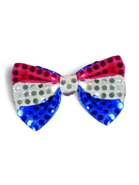 Men's Patriotic Bow Tie Accessory