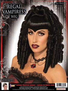 Regal Vampiress Female Wig