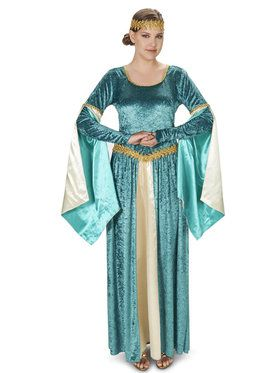 Renaissance Teal Dress Adult Costume