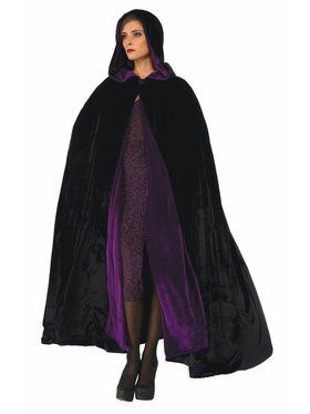 Reversible Cloak - Purple/Black