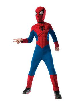 Reversible Kids Spider-Man Costume