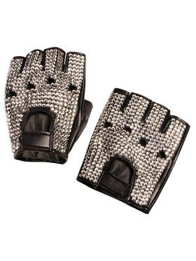 Midnight Menagerie Biker Gloves