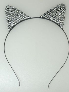 Cat Ears Rhinestone Accessory