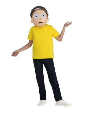Rick & Morty - Morty Teen Costume