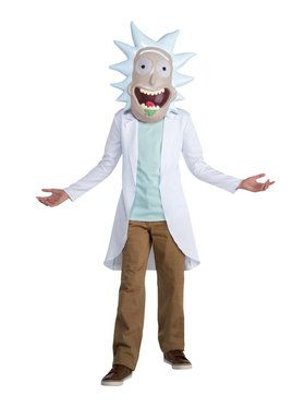 Rick & Morty - Rick Teen Costume