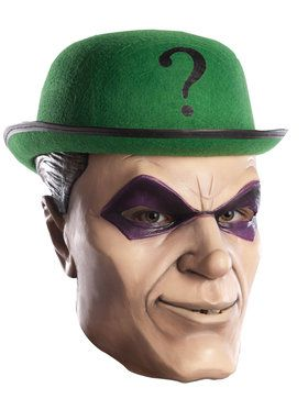 Overhead Latex Riddler 2018 Halloween Masks