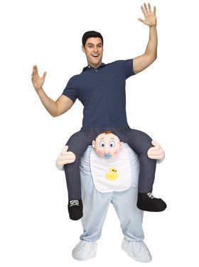 Ride a Baby Adult Costume