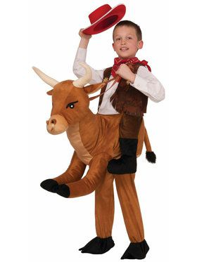Ride a Bull Child Costume