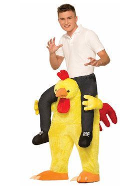 Ride a Chicken Adult Costume