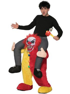 Ride a Clown Adult Costume  sc 1 st  BuyCostumes.com & Clown and Circus Costumes - Adults and Kids Halloween Costumes ...