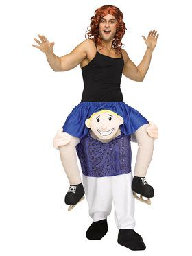 Ride a Figure Skater Adult Costume One-Size