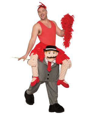 Ride A Flapper Adult Costume Standard