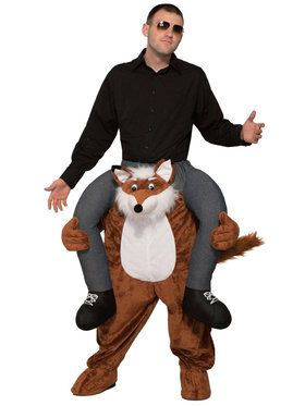 Ride a Fox Adult Costume