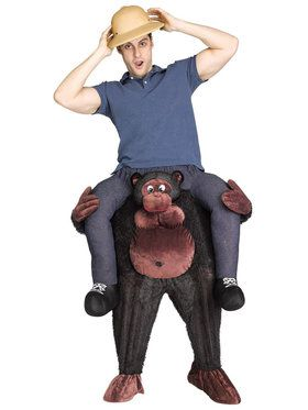 Ride a Gorilla Adult Costume
