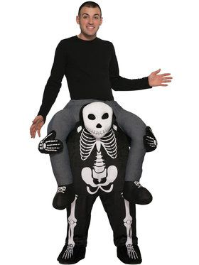Ride a Skeleton Adult Costume