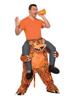 Ride a Tiger Adult Costume Standard