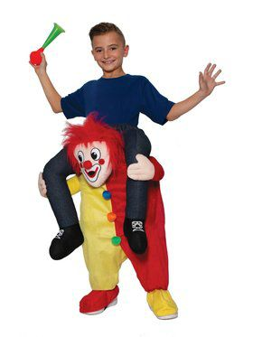 Ride On - Clown Child Costume