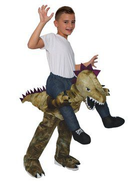 Ride On - Dinosaur Child Costume