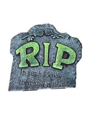 Buried RIP Tombstone
