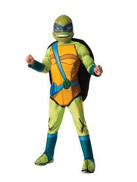 Boys Deluxe Leonardo Rise Of The Teenage Mutant Ninja Turtles Costume