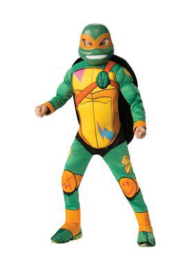 Boys Deluxe Michelangelo Rise Of The Teenage Mutant Ninja Turtles Costume