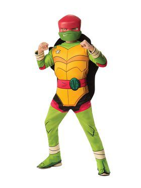 Boys Deluxe Raphael Rise Of The Teenage Mutant Ninja Turtles Costume