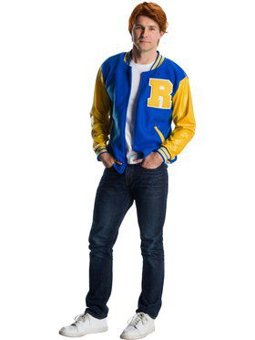 Deluxe Mens Riverdale Archie Andrews Costume