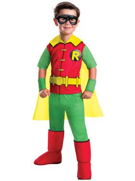 Children's Deluxe DC Comics Robin Costume