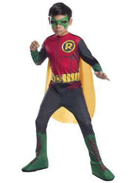 Robin Photo Real Kids Costume (S) Child Costume