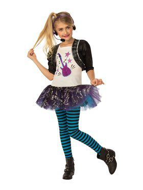 Rock Star Child Costume