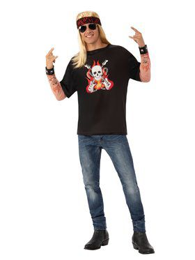 Rocker Adult Costume