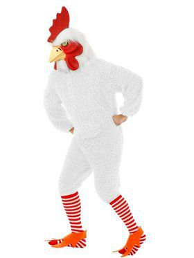 Rocking Rooster Adult White