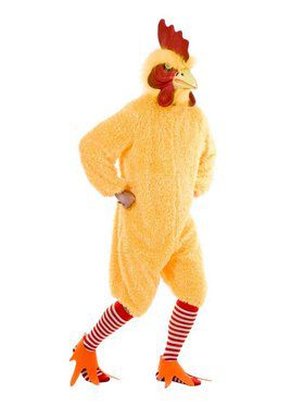 Rocking Rooster Adult Yellow