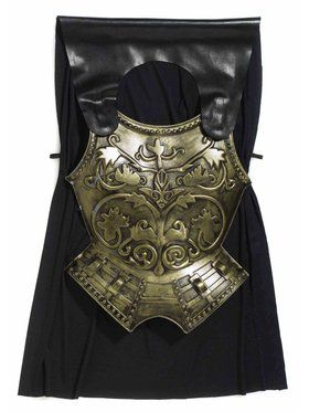 Adult Roman Chest Plate with Cape