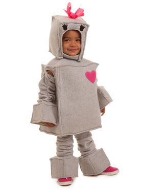 Girls Rosalie the Robot Child Costume
