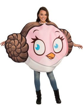 Angry Bird Adult Rovio Princess Leia Costume