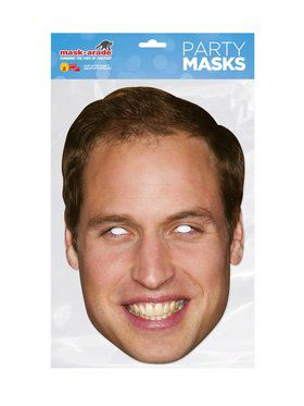 Prince William Royal Face 2018 Halloween Masks