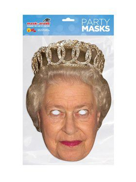 Royal Facemasks-Queen Elizabeth
