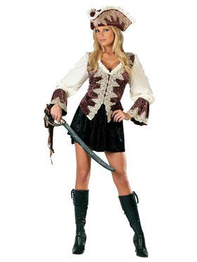 Royal Pirate Lady - Adult Costume