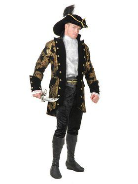 Royal Pirate Captain Adult Costume