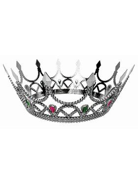 Royal Queen Crown - Silver